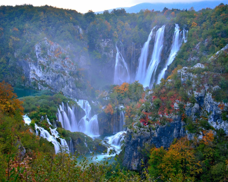 Slovenia Lake Np Plitvice Lakes Leonidas Travel