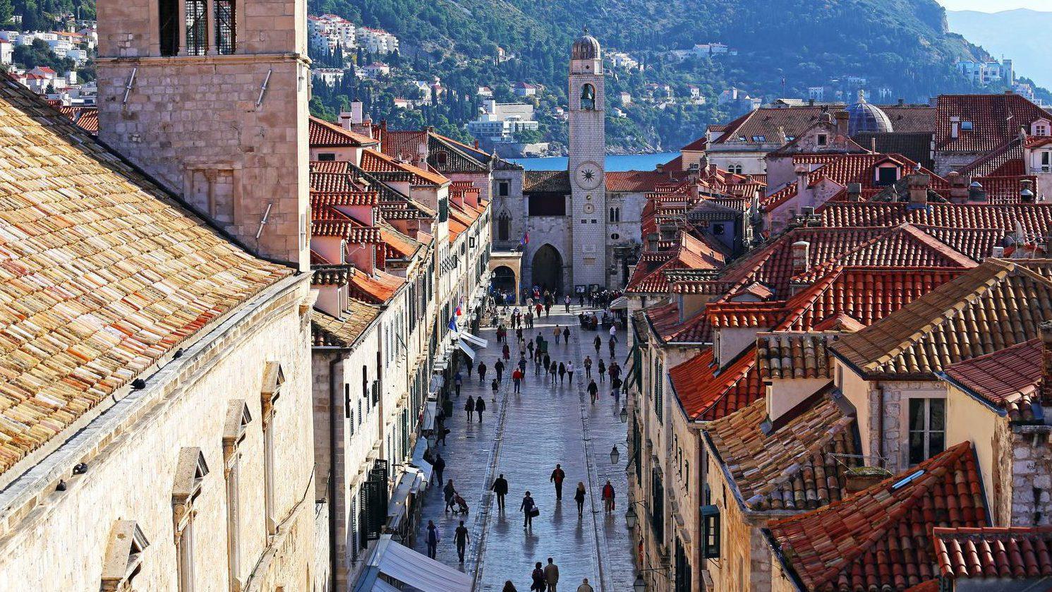 Dubrovnik, Old town, Stradun